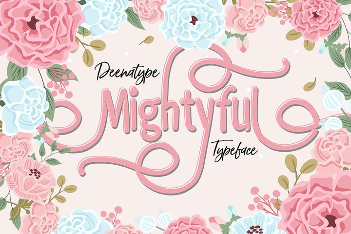 Mightyful Typeface