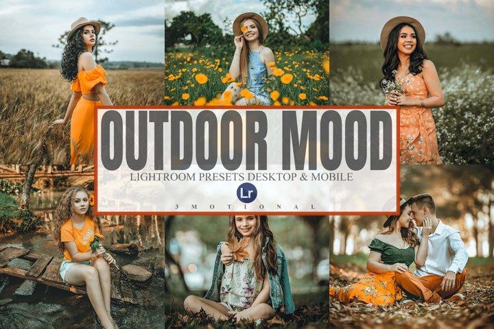 10 Outdoor Mood Lightroom Desktop and Mobile Presets