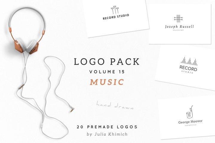 Logo Pack Volume 15. Music
