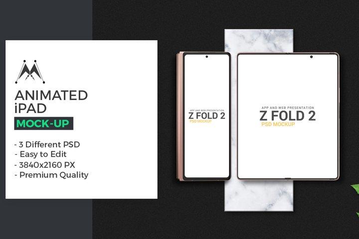 Galaxy Z Fold 2 Mockup