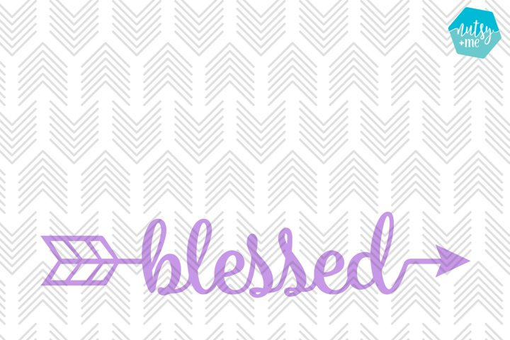 Blessed Arrow - SVG, AI, EPS, PDF, DXF & PNG FILES