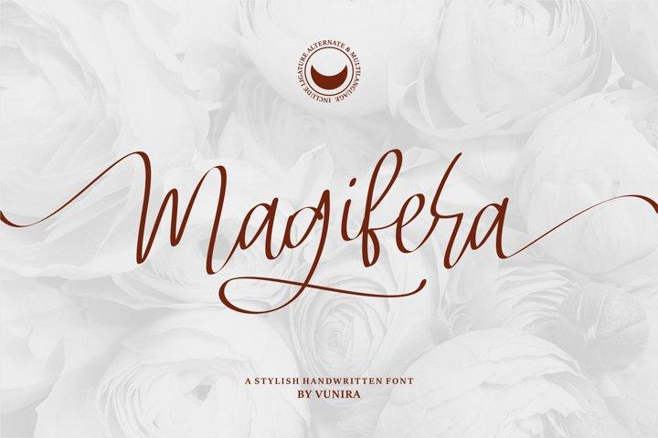 Magifera | A Stylish Handwritten Font