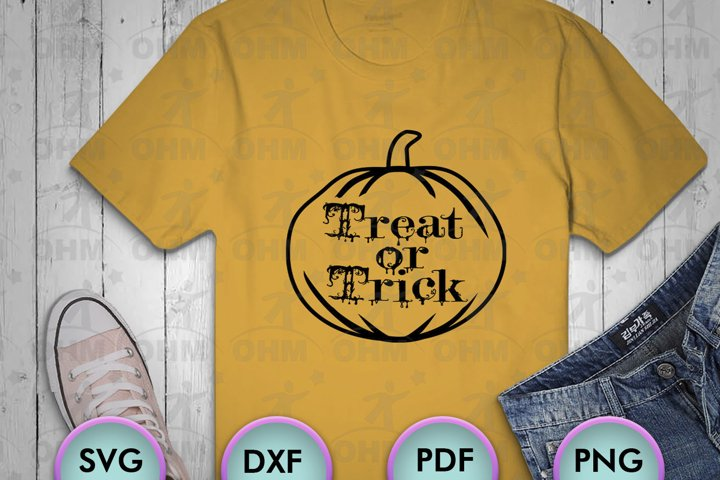 Treat or Trick svg 2, Halloween svg files, Halloween png