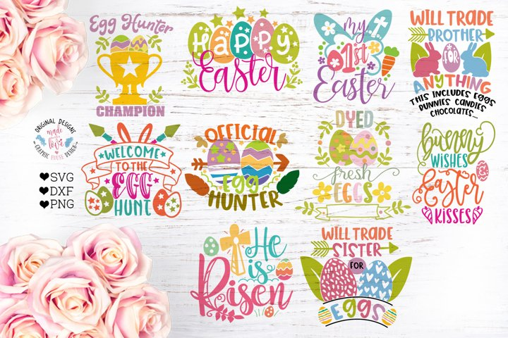 Easter Cut Files Bundle Ten Designs