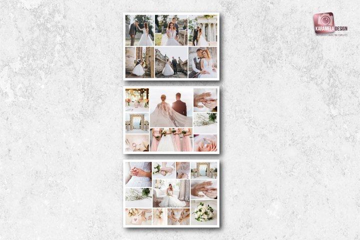A4 Landscape Photo Collages
