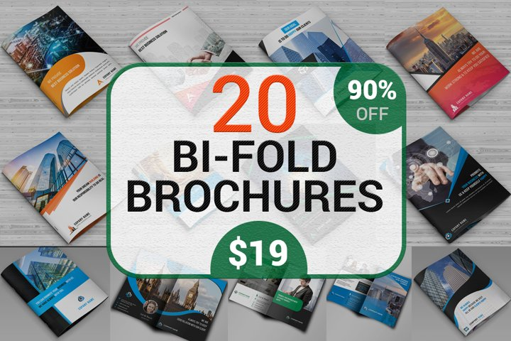 20 Corporate Brochure Bundle