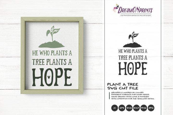 Plant a Tree SVG | Hope SVG Cut File