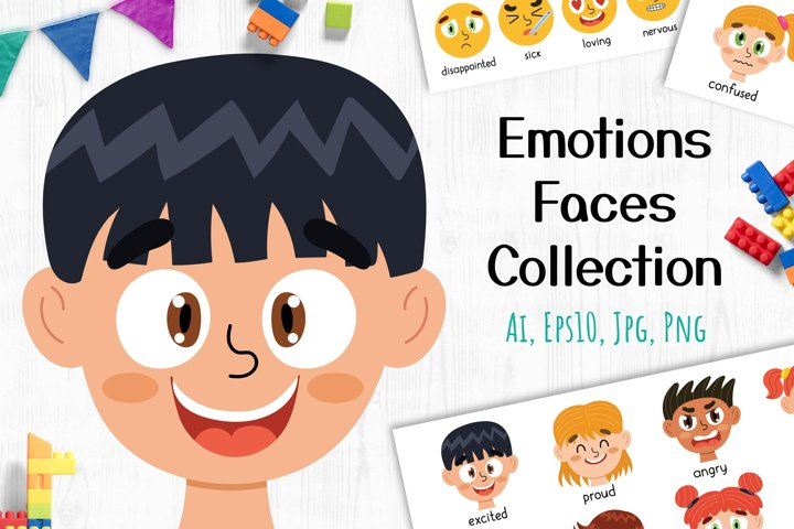 Emotions Faces Collection