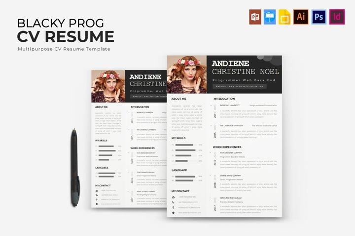 Blecky Program | CV & Resume
