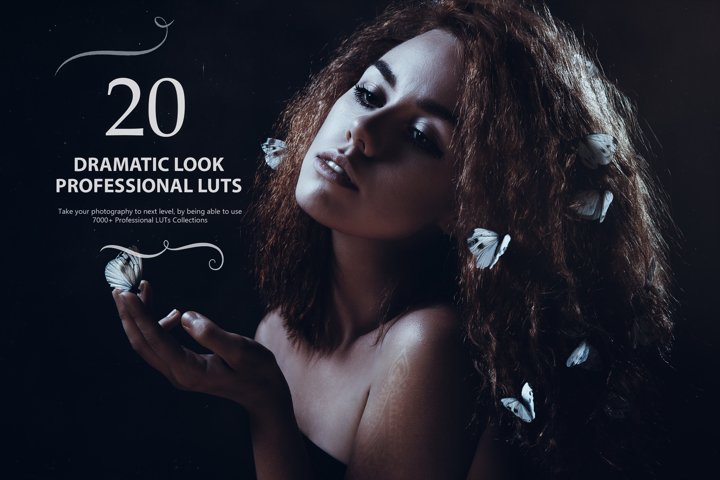 20 Dramatic Look LUTs - Look Up Tables
