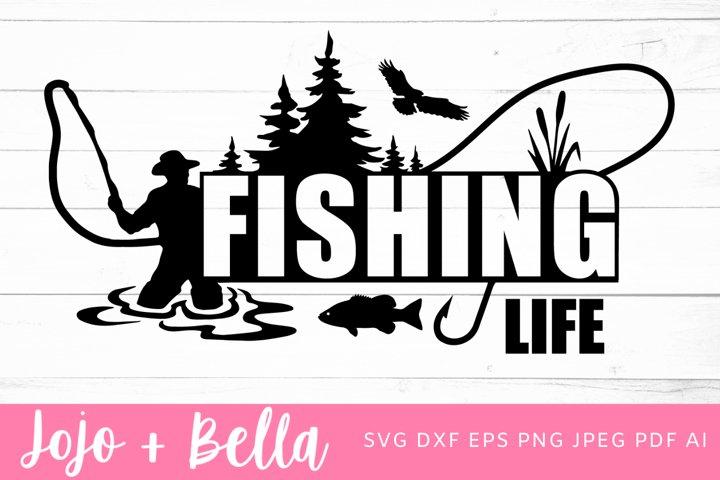 Fishing Svg | Dad Svg