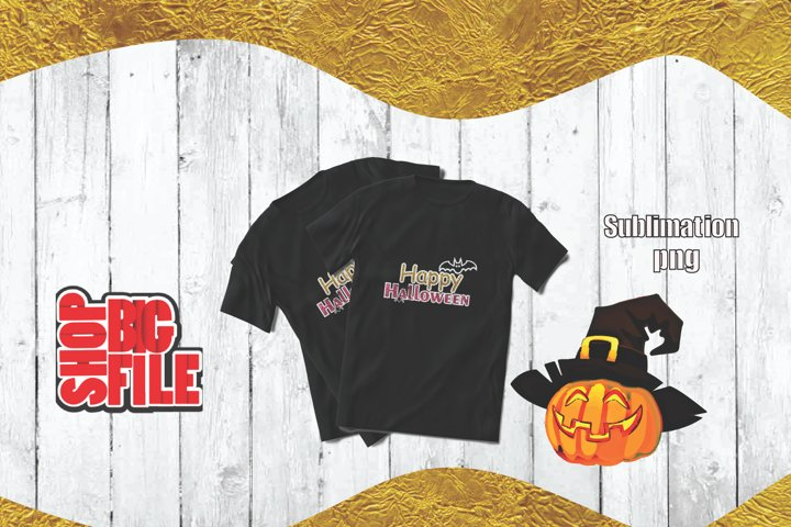 Happy Halloween sublimation for childs