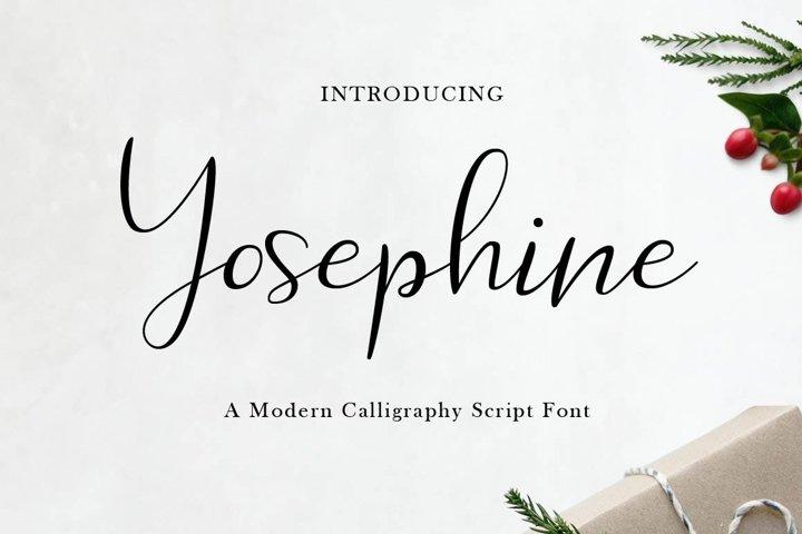 Yosephine Script