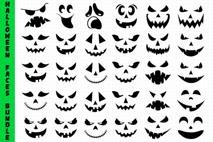 Halloween Faces Bundle
