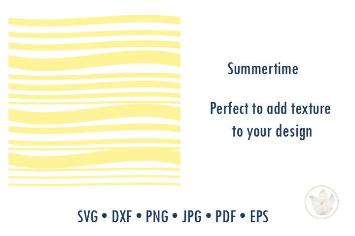 Summertime line texture pattern svg cut file