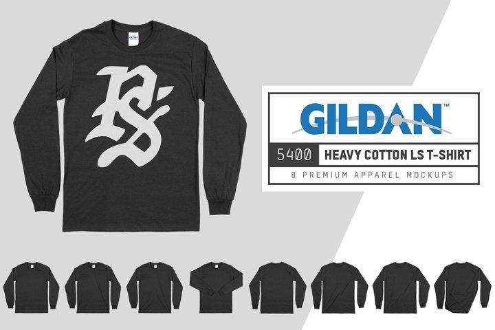 Gildan 5400 Longsleeve T-Shirt Mock