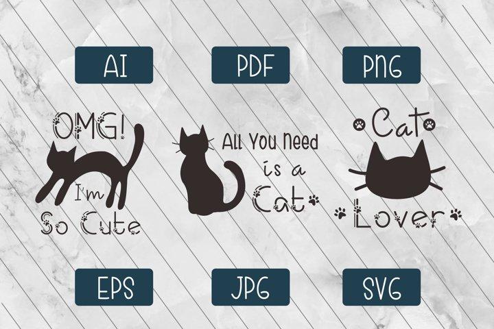 Cat Lover Quote