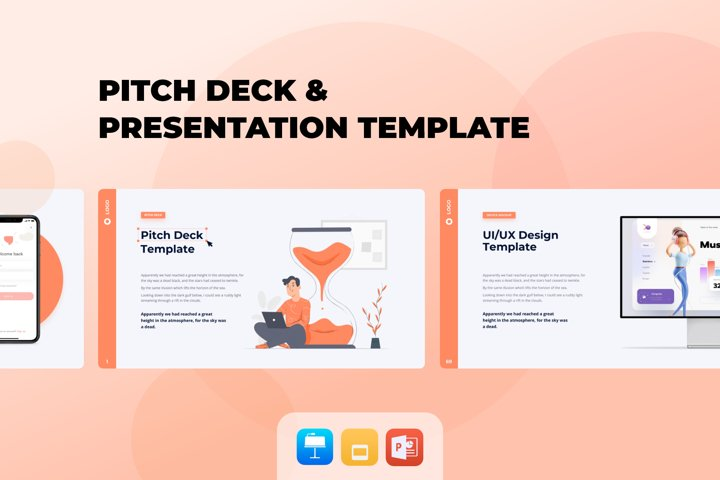 Pitch Deck & Presentation Animated Template