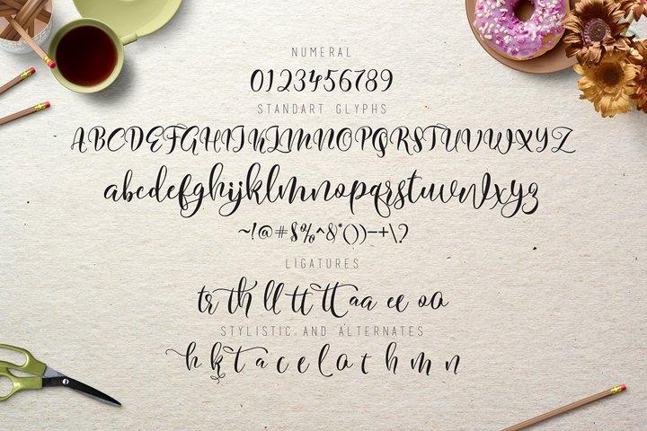 Flitte Script - Free Font of The Week Design3