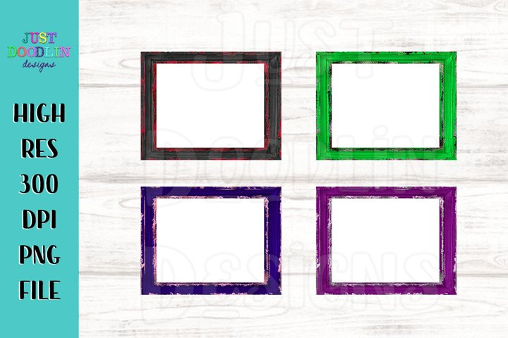 Set Of Frames And Highlights PNG | Mix and match