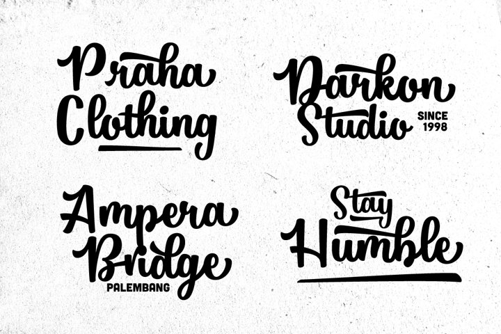 Pathout Script - Free Font of The Week Design5