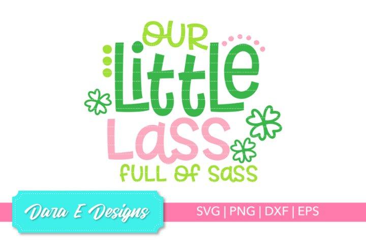Little Lass SVG   St Patricks Day SVG   Luck Shirt Des