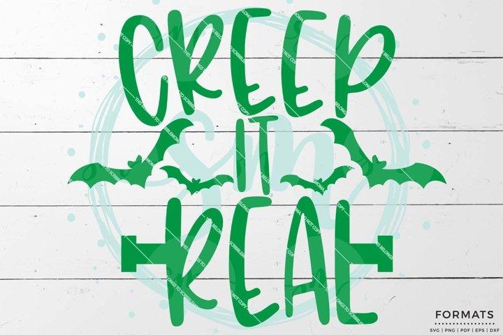 Creep It Real SVG