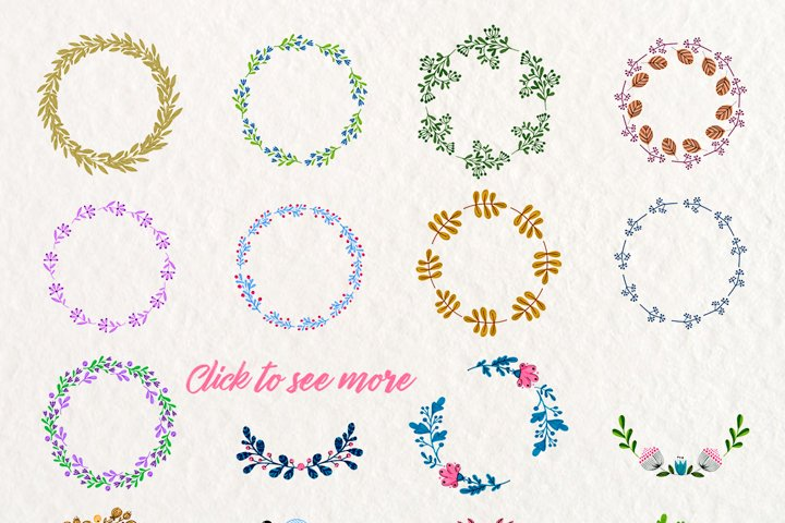 Floral Wreaths example 2