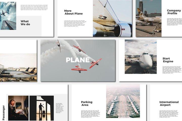 Plane - Powerpoint Templates