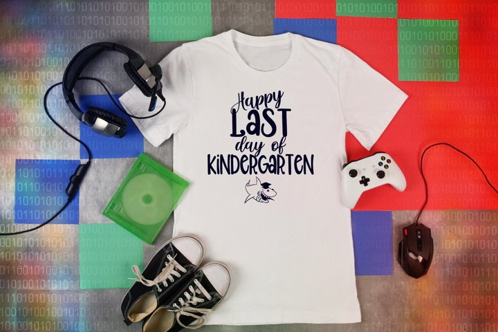 Last Day of Kindergarten svg cut file cameo kindergarten svg