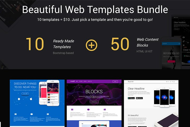 Bootstraptor – UI KIT and Template Bundle