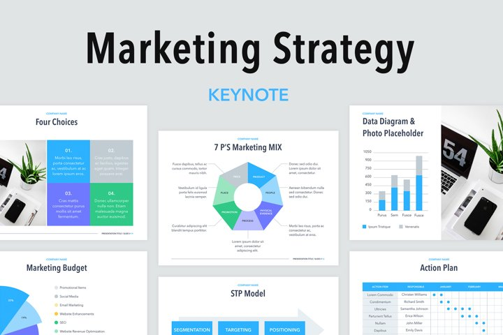 Marketing Strategy Keynote Template