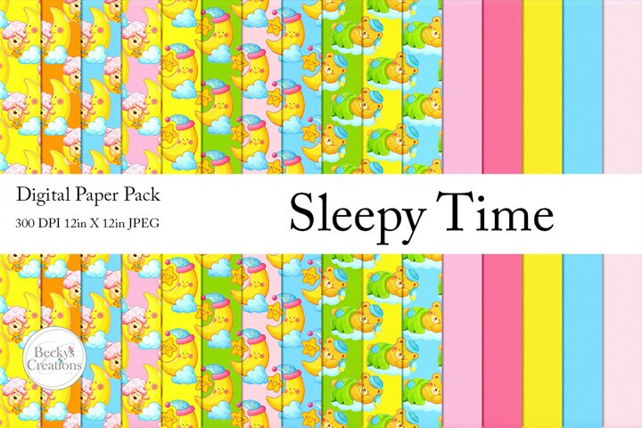 Sleepy Time Paper Pack