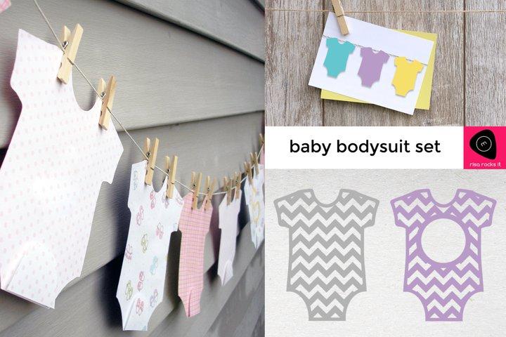 Baby Bodysuit SVG Design Set
