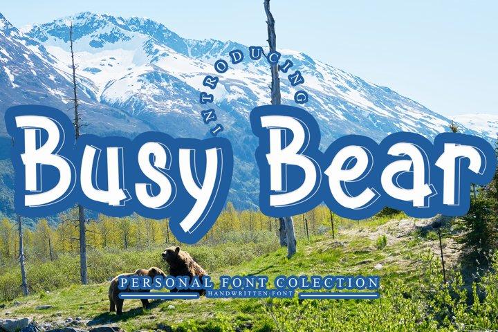 Busy Bear