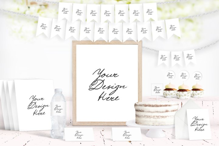 Party Scene creator Mockup, Party Decoration Mockup, 1090