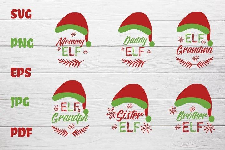 Collection Christmas Elf Hats kit