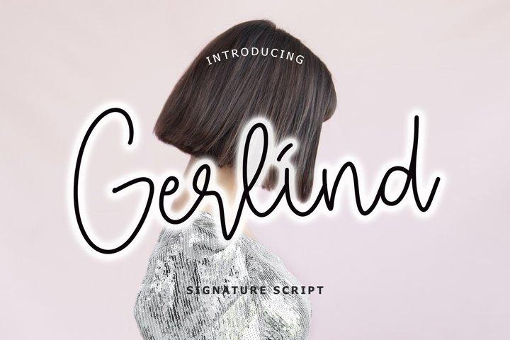 Gerlind Signature Script