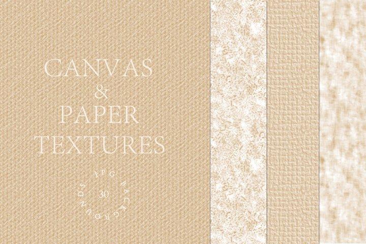 Canvas & Paper Textures