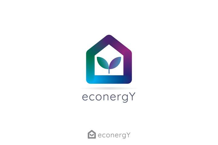 reversible energy concept logo