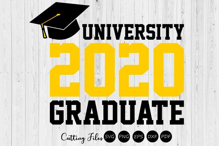 University graduate 2020  SVG Cutting files  