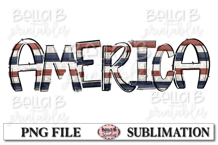 AmericaSublimation Design, United States, 4th of July