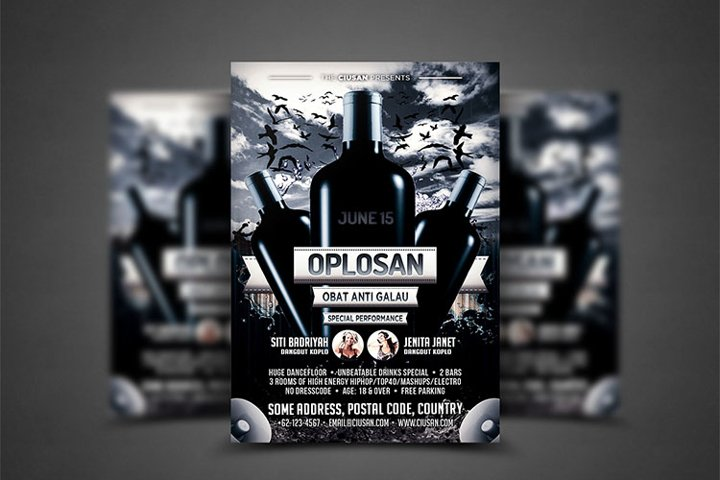 Oplosan Flyer Template