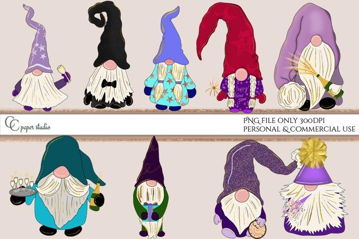 Gnomes illustration - New years edition