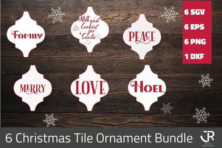 Christmas Tile Ornament Bundle