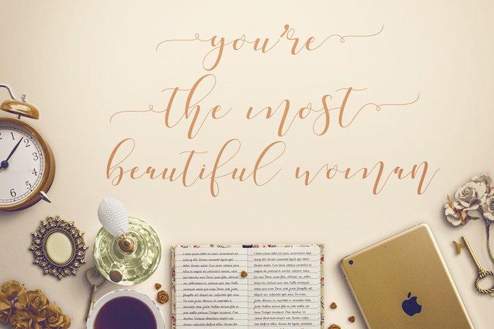 Shania Sweet Calligraphy Modern - Free Font of The Week Design4