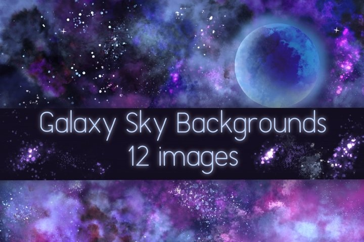 Galaxy Sky Backgrounds