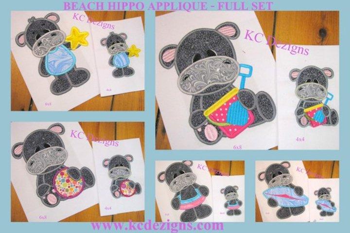 Beach Hippo Full Set