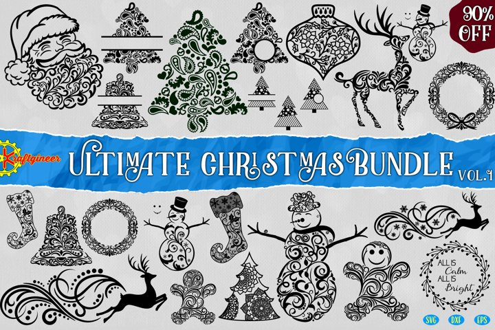 Swirly Christmas Bundle Vol1