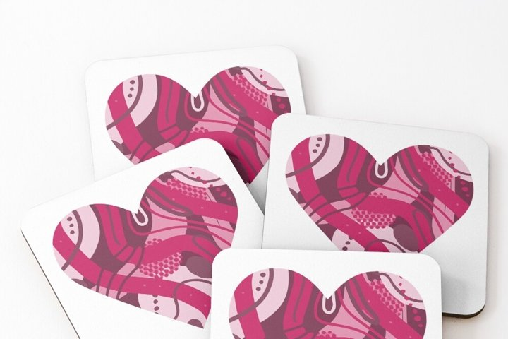 Heart silhouette. Heart clipart. Valentine's day. Heart SVG example 4